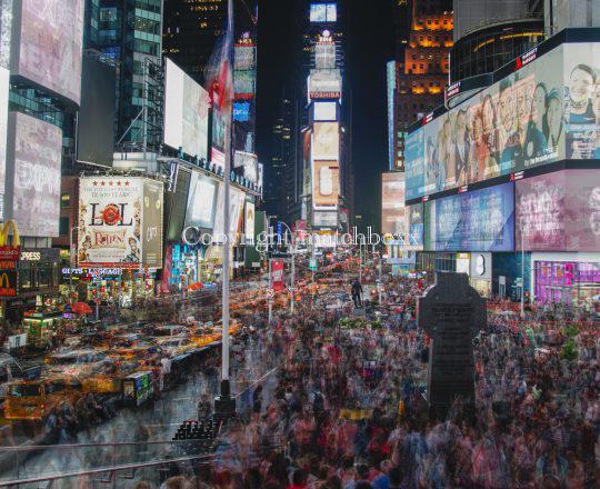 """Jose Luis Tejedor, """"TIMES SQUARE"""", Originalfotografie, limitiert und signiert, Preis je nach Größe auf Anfrage"""