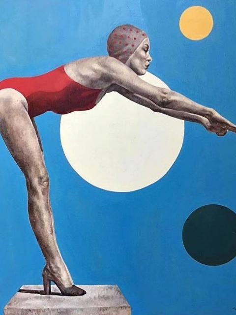 Petrova_1980_Öl auf Leinwand_80x80 cm
