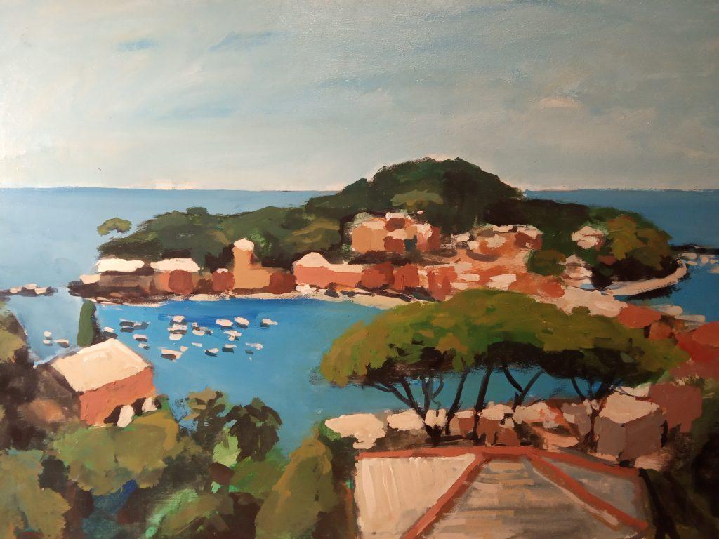 Giorgio Dapino, Sestri Levante, Öl auf Leinwand, verschiedene Größen