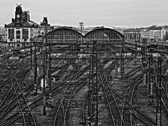 Klapetz_Praha Hauptbahnhof_Originalfotographie