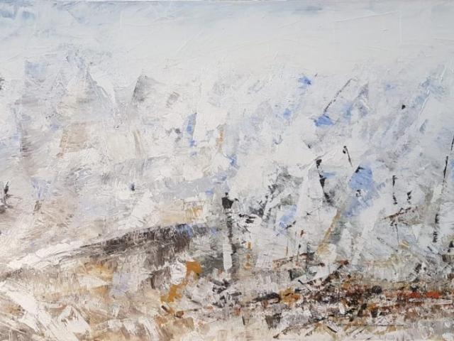 Zürs am Arlberg, 110x80 cm