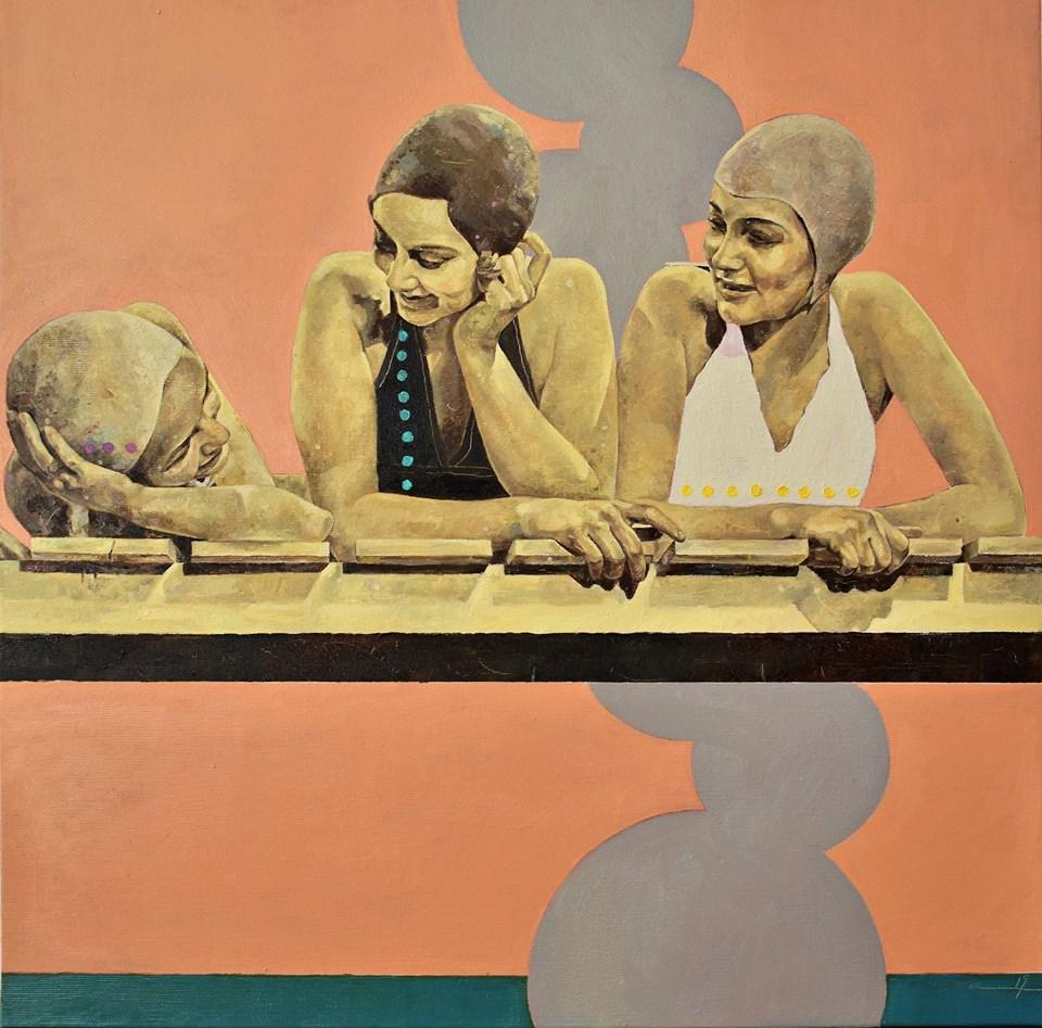 Petrova_Simple Dreams_Öl auf Leinwand, 50 x 50 cm
