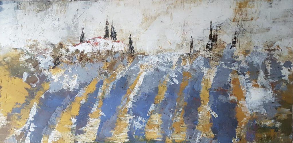 Brandner_Lavendelfelder in der Toskana_110x80 cm