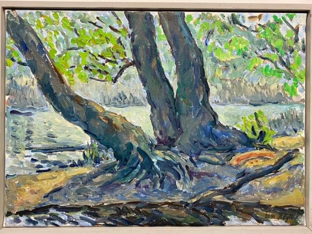 Egli_Lustwasser I, Öl auf Leinwand, 35 x 25 cm, 2010