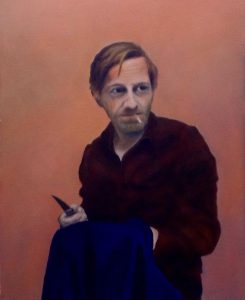 Micheal Borremans, Öl auf Leinwand, 40x60 cm
