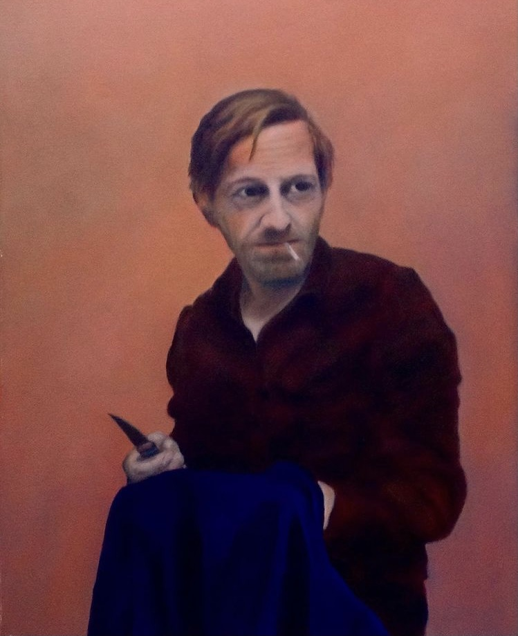 Aragall_Michael Borremans 1, Öl auf Leinwand, 40x60 cm