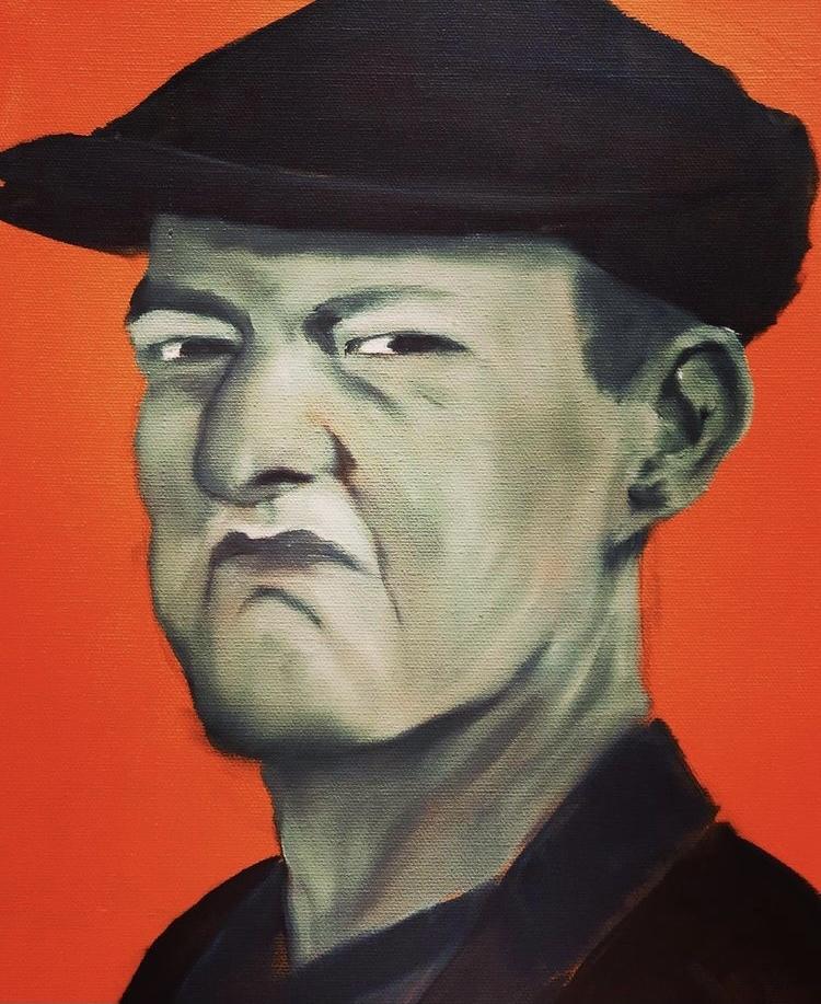 Aragall_Robert Oswald, Öl auf Leinwand, 30x40 cm