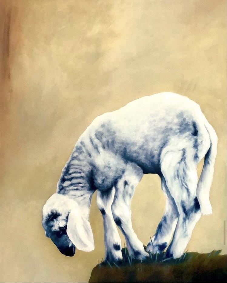 Aragall_Abyss, Öl auf Leinwand, 70x90 cm